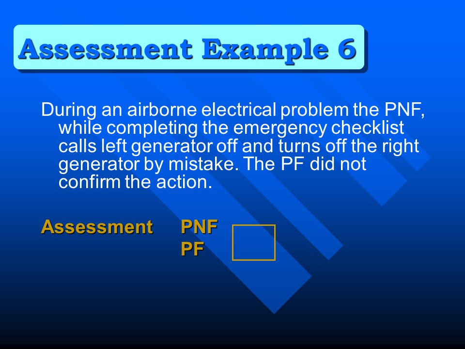 During an airborne electrical problem the PNF, while completing the emergency checklist calls left generator off and turns off the right generator by