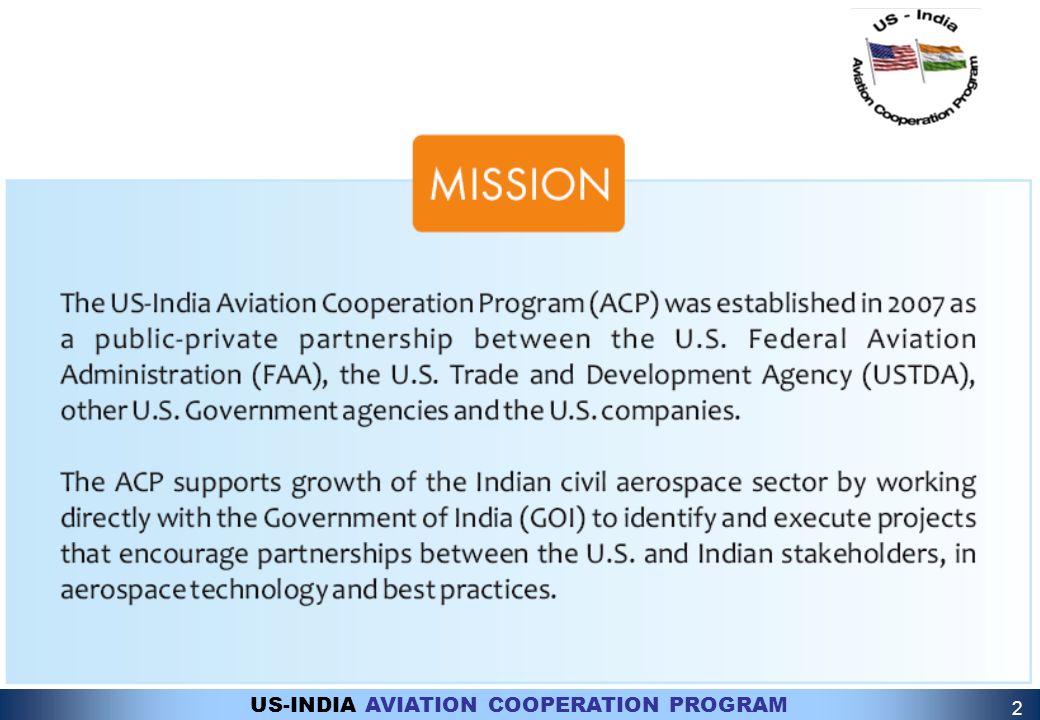 US-INDIA AVIATION COOPERATION PROGRAM 2