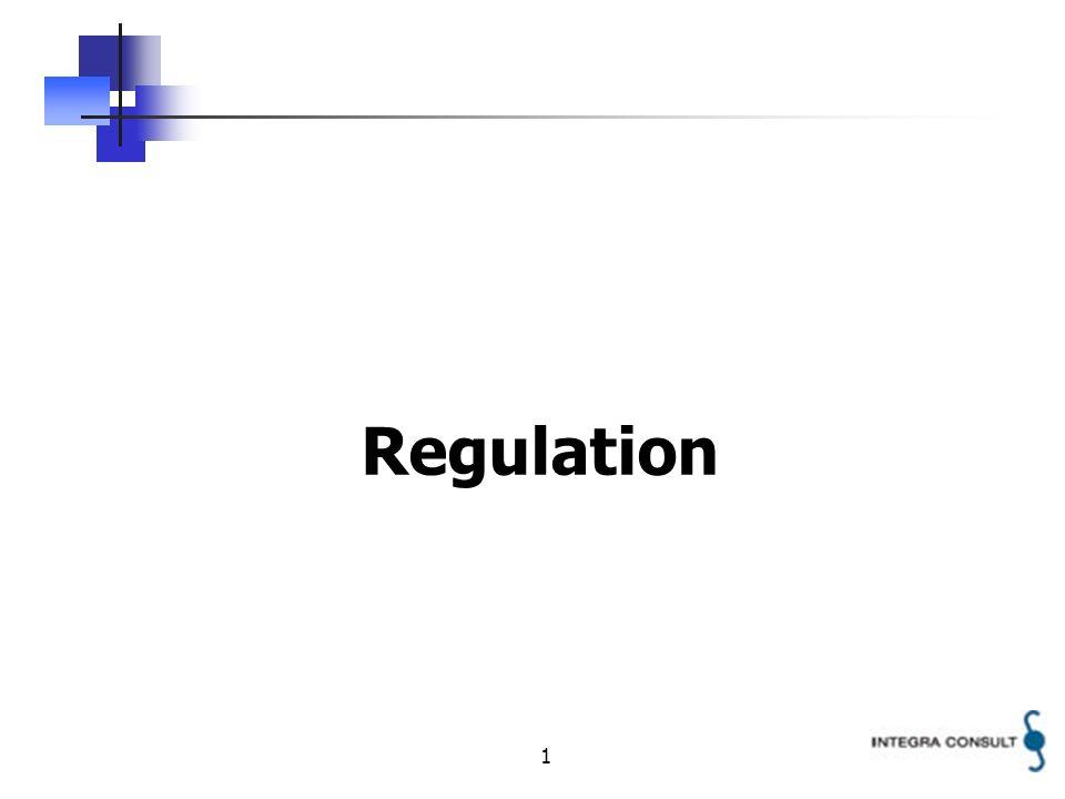 1 Regulation