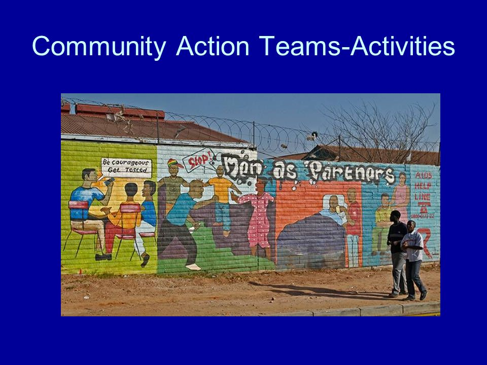 Community Action Teams-Activities