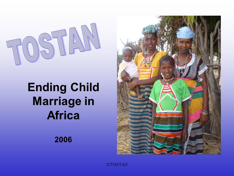 ©TOSTAN Ending Child Marriage in Africa 2006