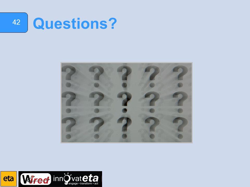 42 Questions?