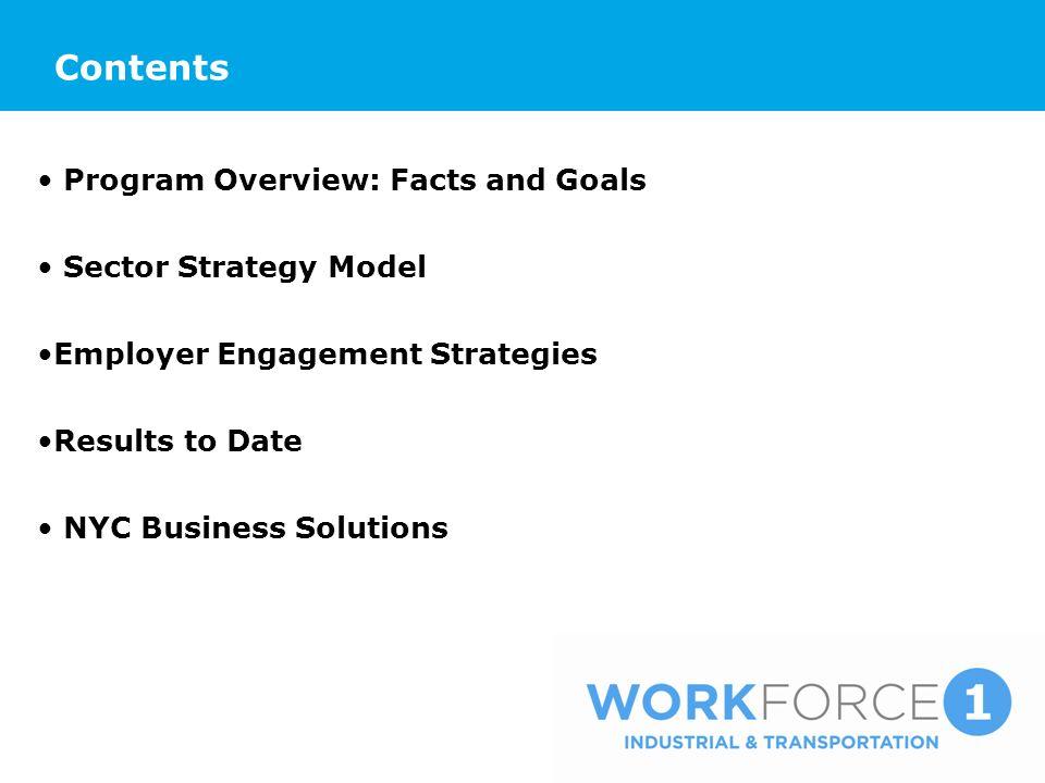 Program Overview: Facts Vendor: DB Grant Associates Inc.