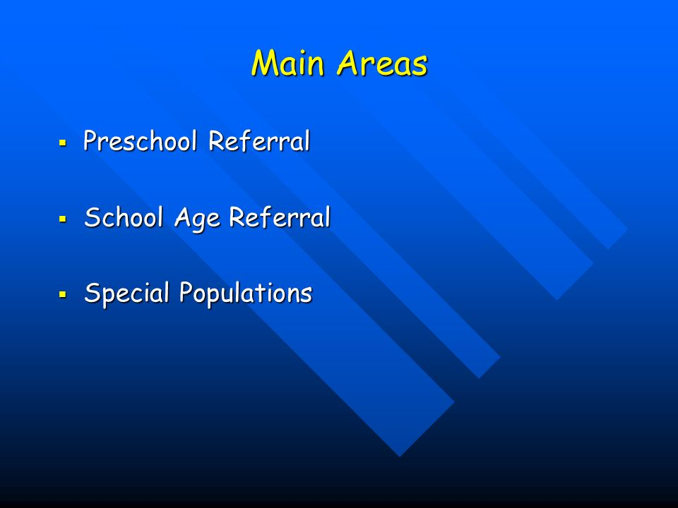 Special Populations Continued Central Auditory Processing Disorder (CAPD) Central Auditory Processing Disorder (CAPD) Autism Spectrum Disorder Autism Spectrum Disorder Nonverbal Learning Disorder Nonverbal Learning Disorder Other Disorders Other Disorders