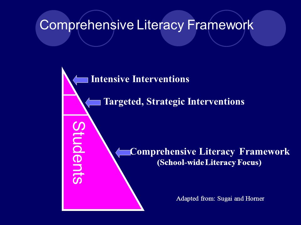 District Responsibilities Strong instructional leaders maintaining focus and establishing support mechanisms An integrated system of research-based professional development and resource allocation Adequate, prioritized instructional time Excellent assessment system to inform/guide/validate