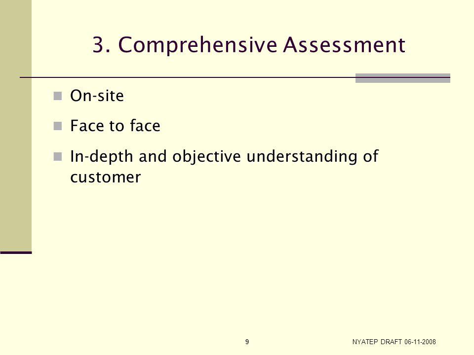 NYATEP DRAFT 06-11-2008 8 UI Profile Score Criteria for Initial Assessment Statistical model – predicts likelihood of exhausting UI benefits Statistic
