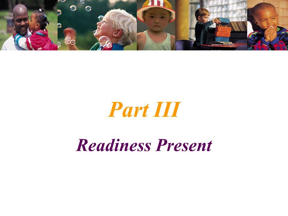 Part III Readiness Present
