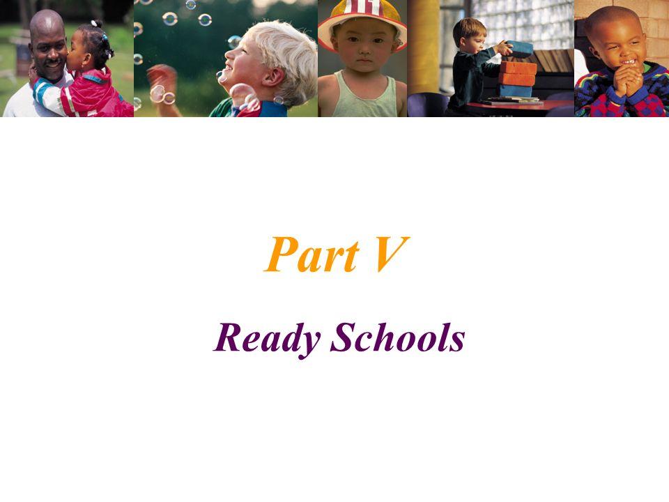 Part V Ready Schools
