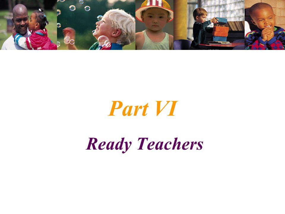 Part VI Ready Teachers