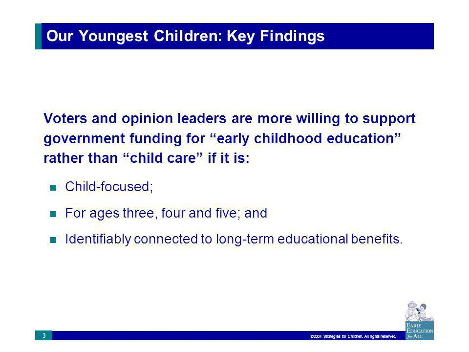 ©2004 Strategies for Children.All rights reserved.