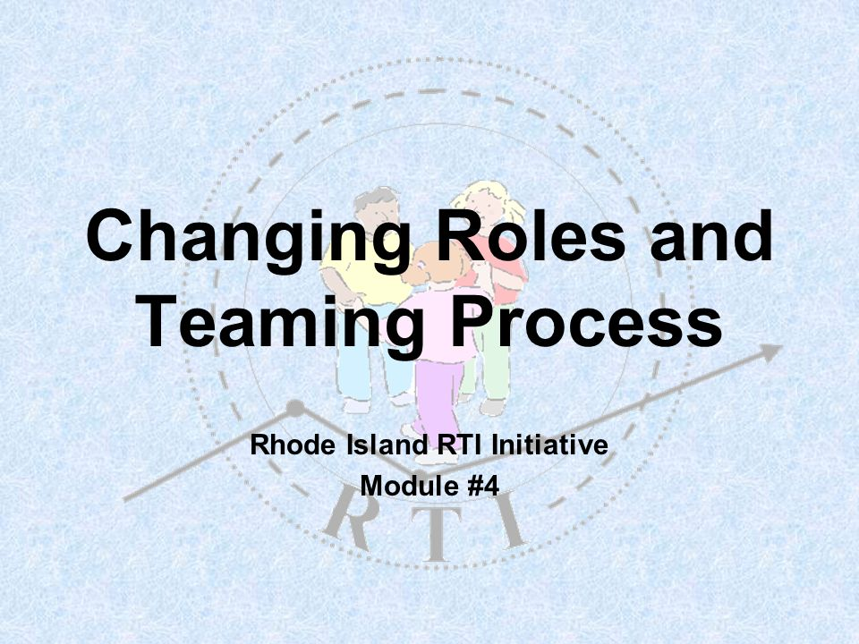R T I 2 Building the RI Model What is it.