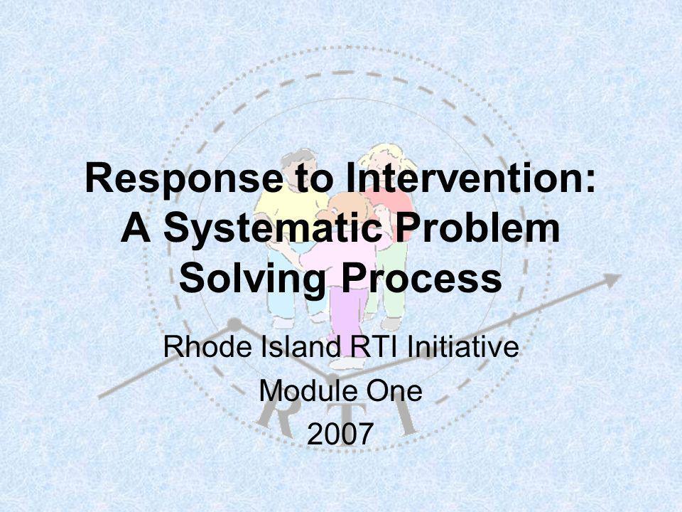 R T I Why RTI.….