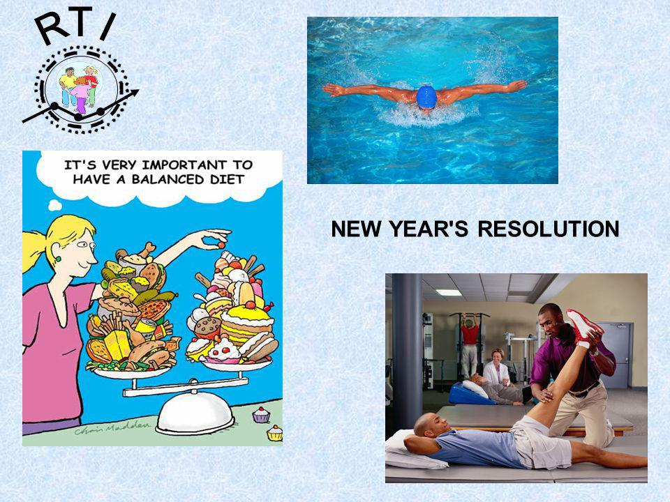 R T I NEW YEAR S RESOLUTION