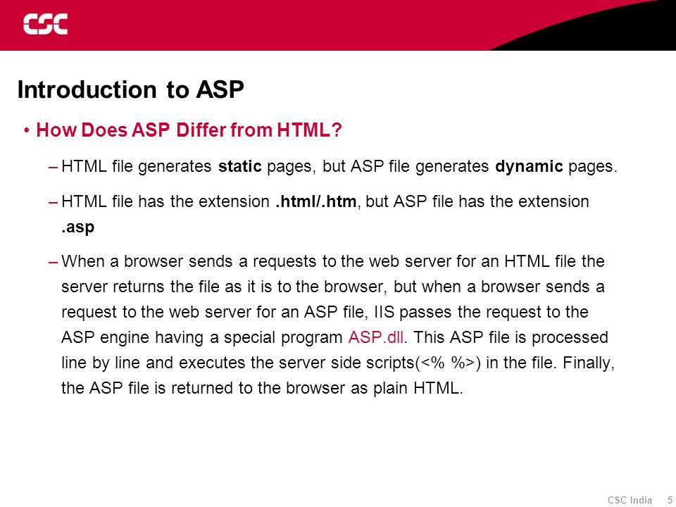 CSC Proprietary 2/11/2014 3:44:12 AM 008_fmt_wht 86 Active Server Pages Session - 4