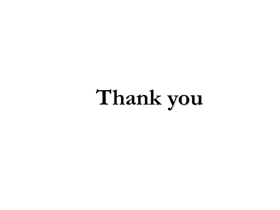 you Thank you