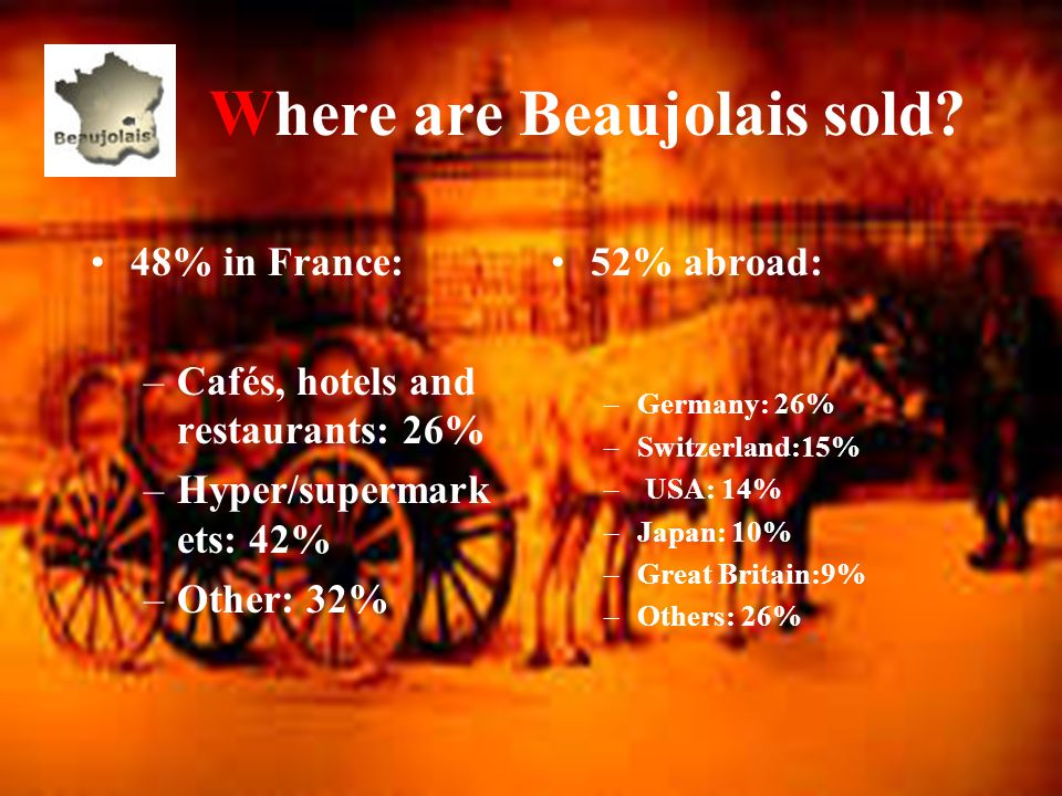 Who makes Beaujolais? 3 619 wine making estates produce the different Beaujolais appellations. Many vine growers join forces within the 19 co-operativ