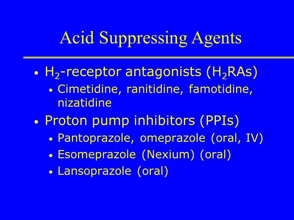 Somatostatin/Octreotide Effects: Lowers splanchnic blood pressure Decreases gastric acid secretion Increases duodenal bicarbonate secretion Meta-analy