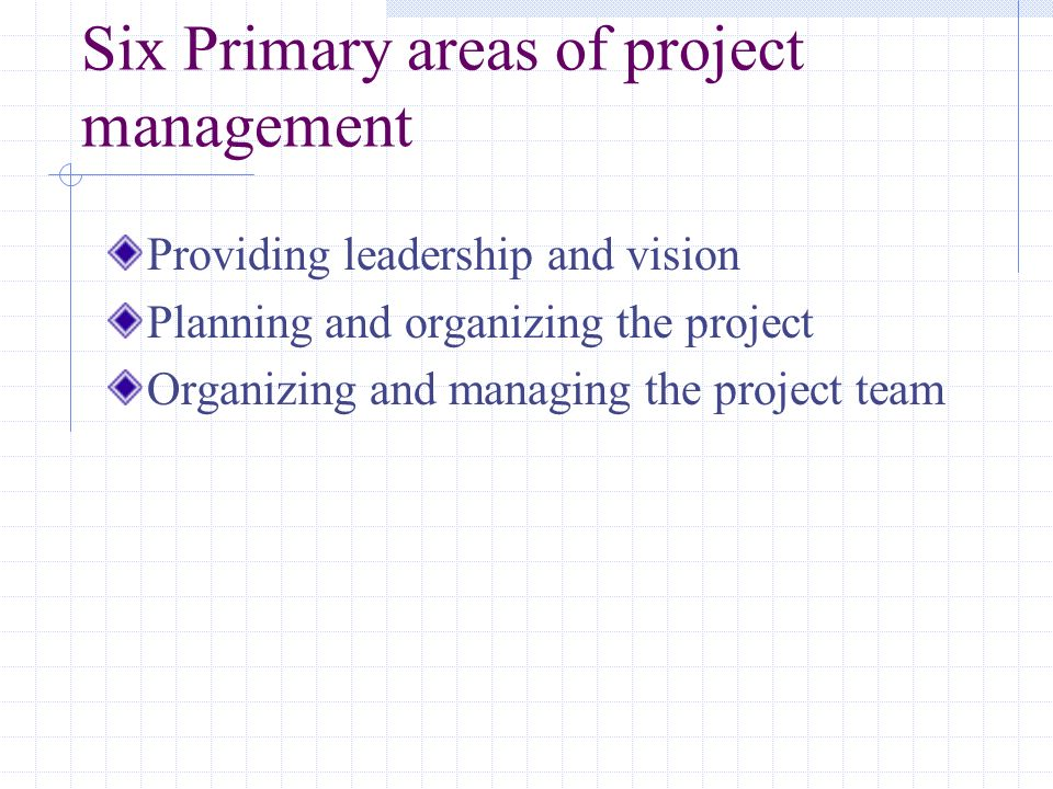 The Baseline Plan Clearly defines the project objective.