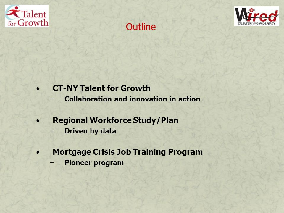 Common Deficiencies among Recent Job Applicants Source: Business Survey, CT-NY Talent for Growth Region, Nov.08
