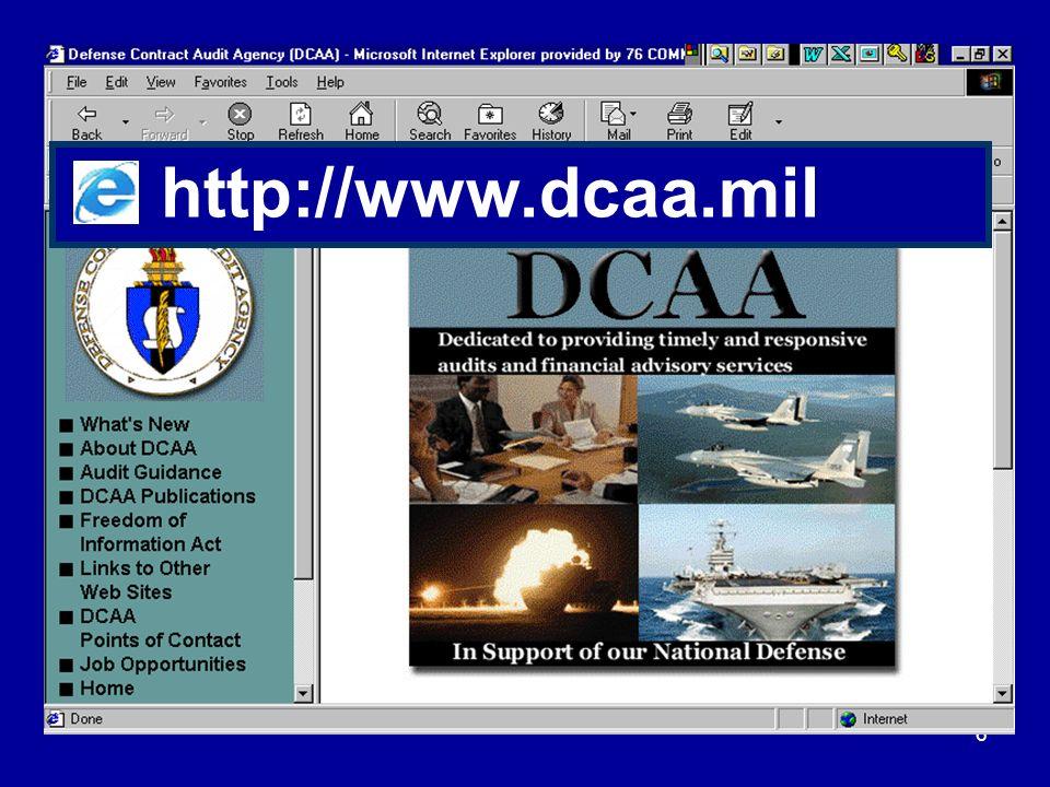 6 http://www.dcaa.mil