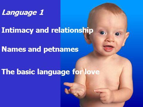 Language 2 Information Recognising the world The basic language of school