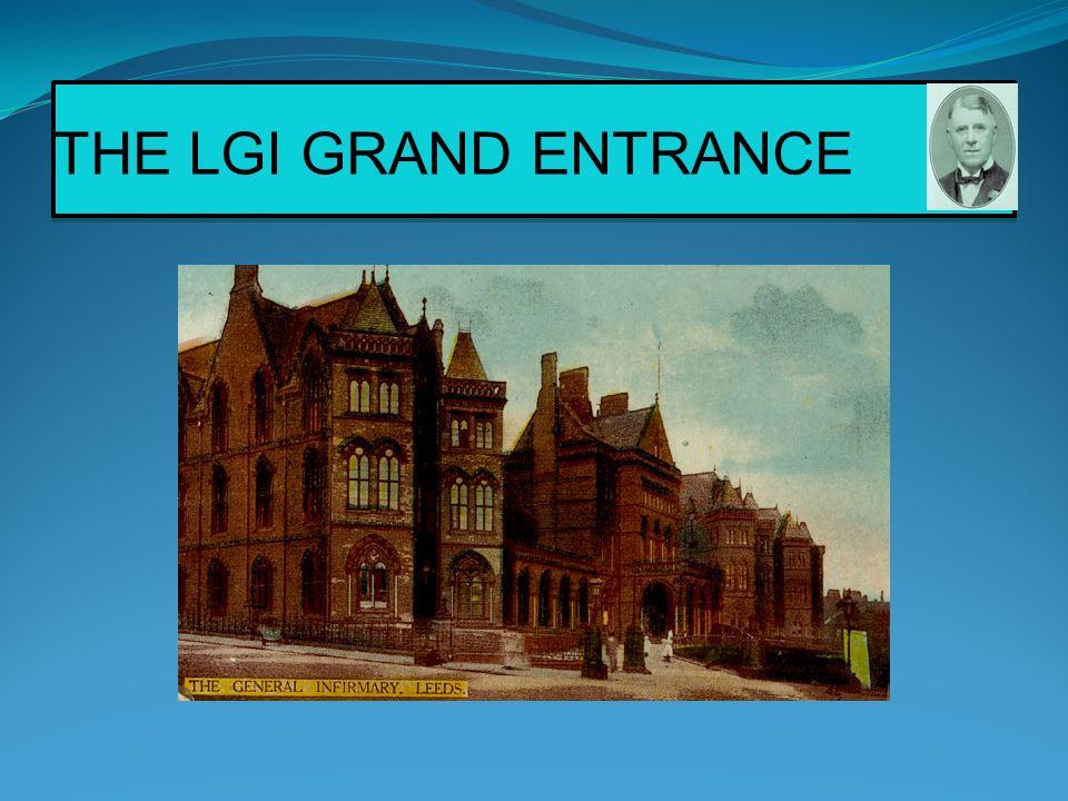 THE LGI GRAND ENTRANCE