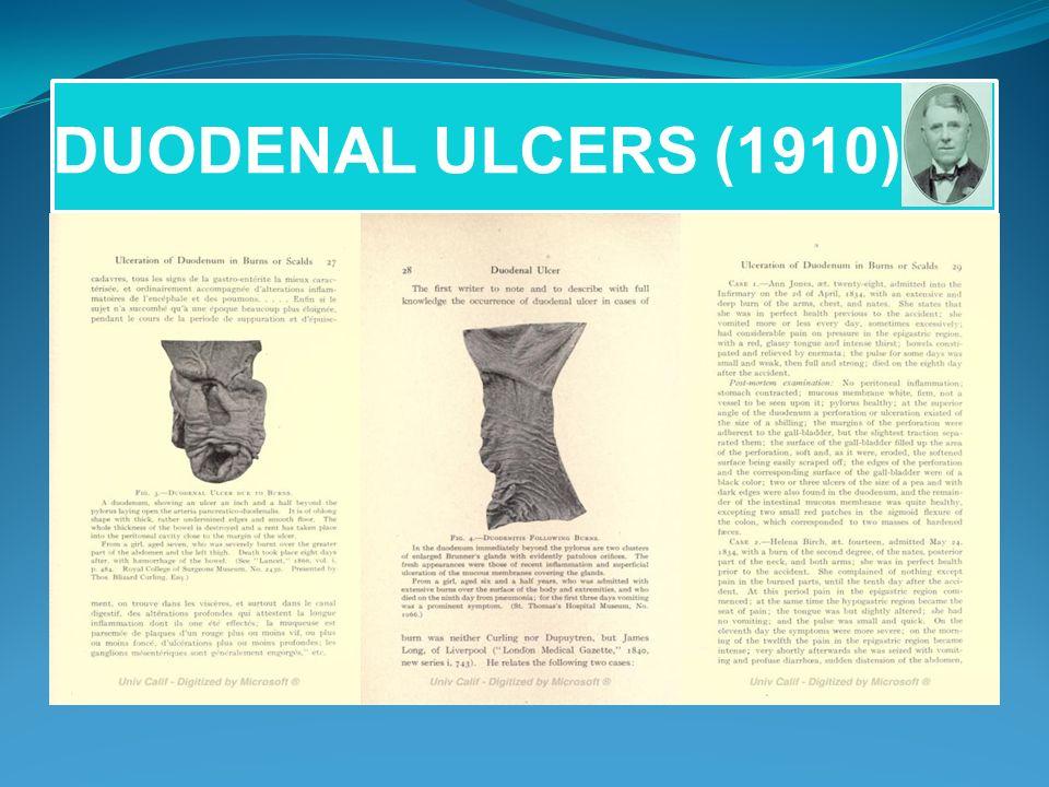 DUODENAL ULCERS (1910)