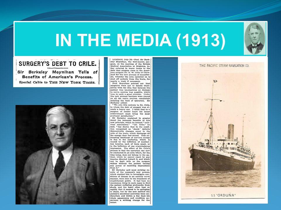 IN THE MEDIA (1913)