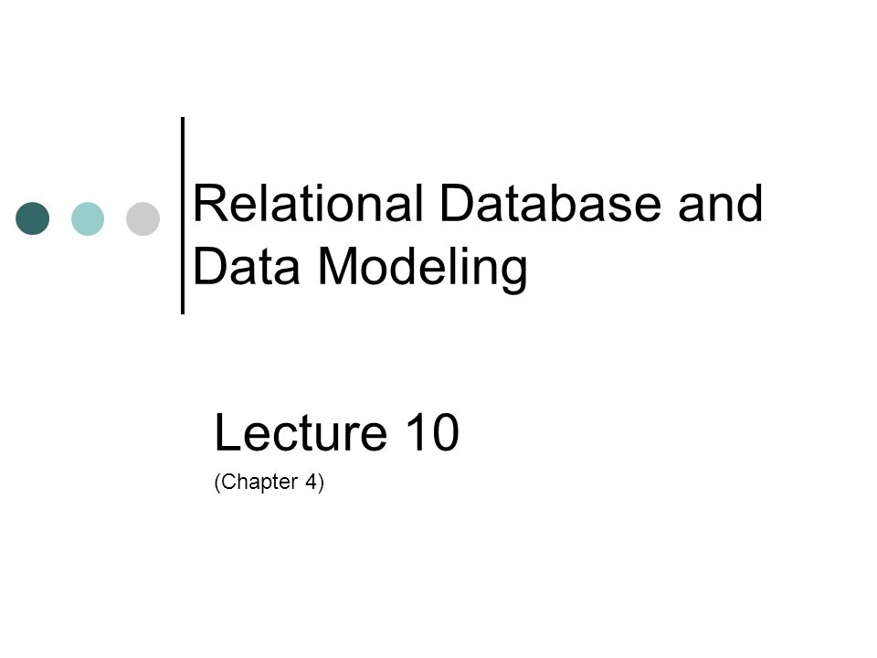 Lecture 10-22 ©2003 Prentice Hall Business Publishing, Accounting Information Systems, 9/e, Romney/Steinbart The REA Data Model Data modeling is the process of defining a database so that it represents all aspects of the organization, including its interactions with the external environment.