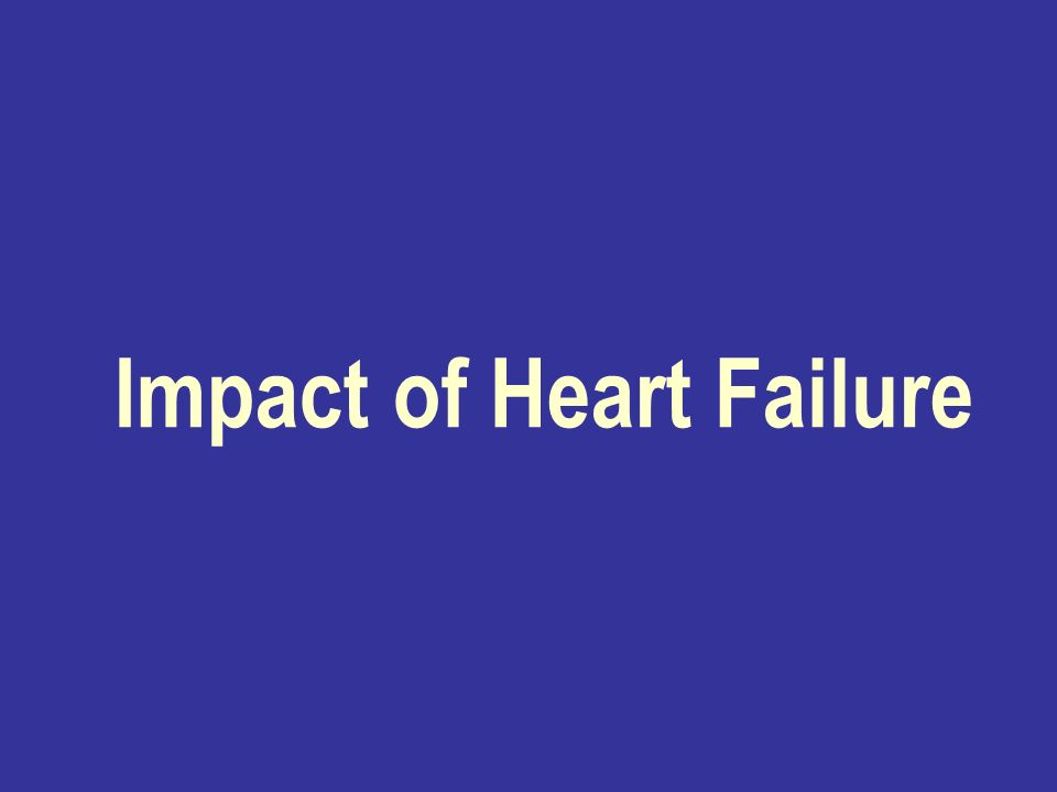 Impact of Heart Failure
