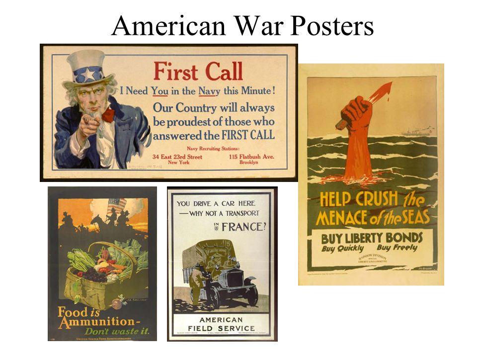 American War Posters