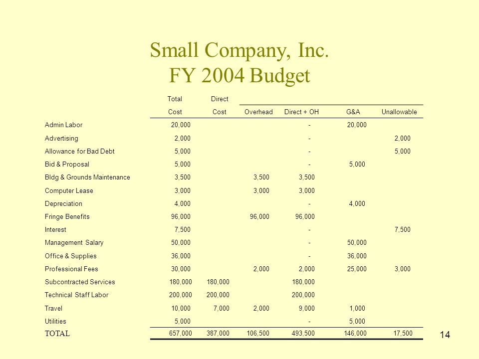 13 Small Company, Inc.