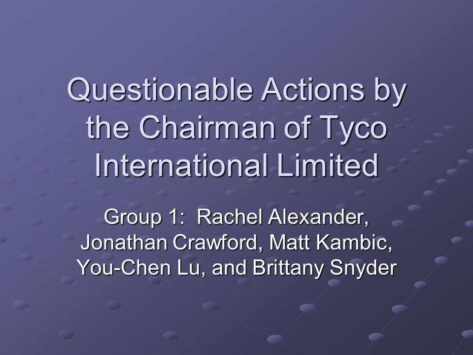 Overview Introduction and Summary of Situation – Matt Kambic Benefits and Harms – You-Chen Lu Rights Involved – Brittany Snyder Economic, Legal, and Ethical Situation – Rachel Alexander Moral Solution and Conclusion – Jonathan Crawford Q & A – Group