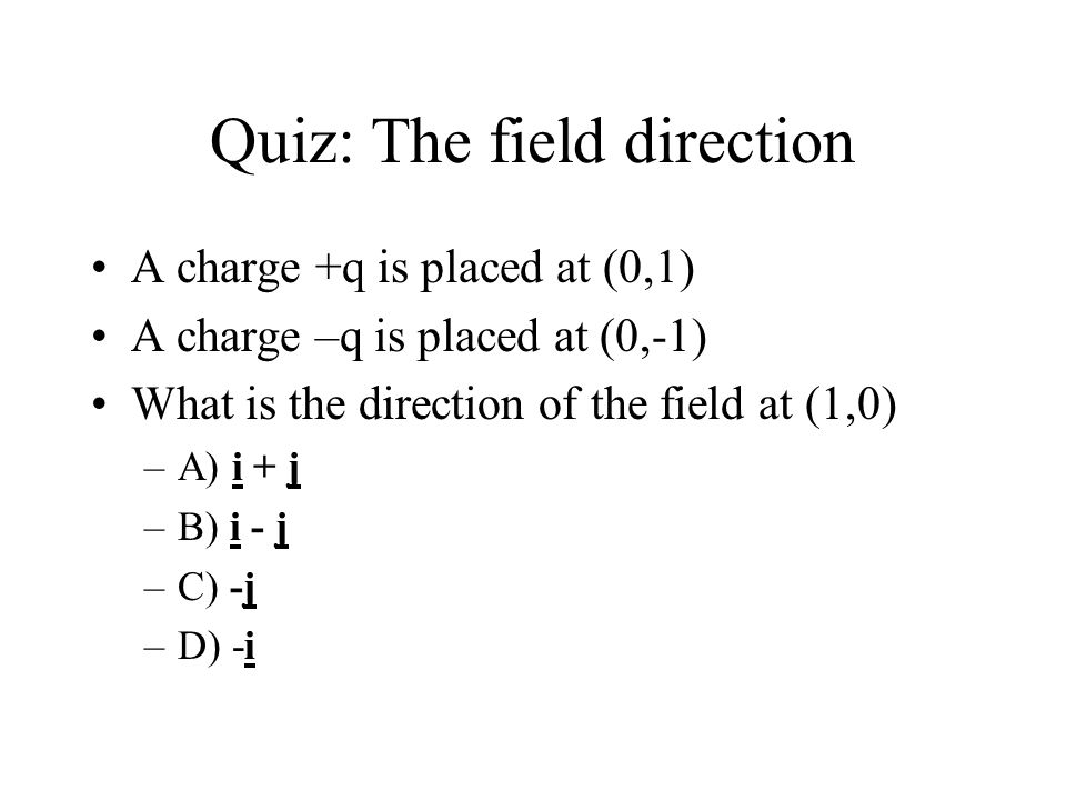 Drawing Electric Field Lines: Examples From Electric field vectors to field lines Field lines from all angles Field lines representation