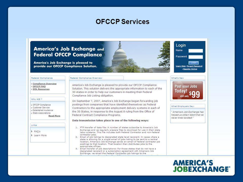 OFCCP Services