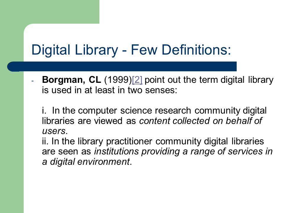 Principles for Digital Library Development[22]:[22]