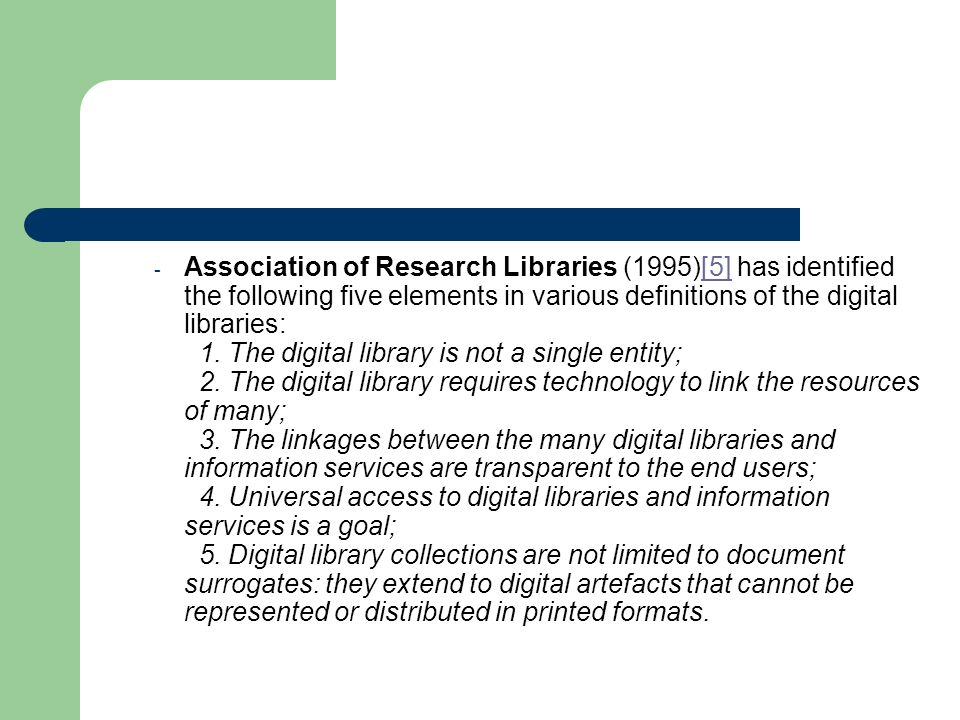 A number of free and fee based reference and information services are now available through web, and many of them are offered by non-library organisations.