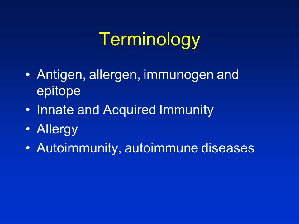 Innate and Acquired Immunity InnateAcquired Ag specificity noyes Magnitude (1 0, 2 0 )samehigher (2 0 > 1 0 ) Memorynoyes Key componentsPMN, NKT, B lymphocytes C, barriers APCs