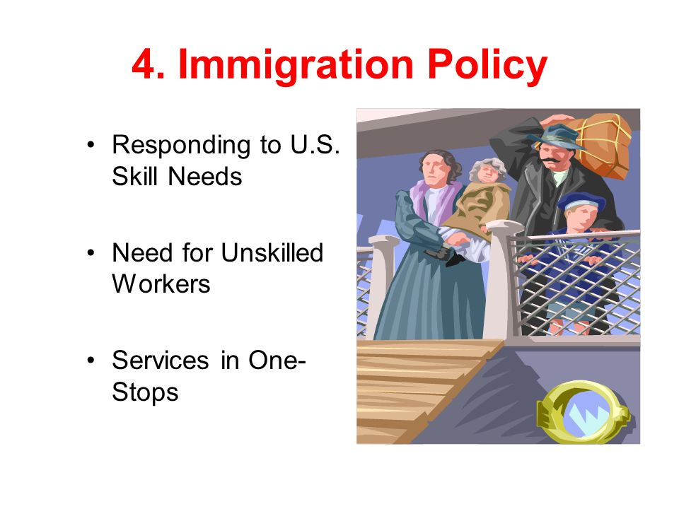 4. Immigration Policy Responding to U.S.