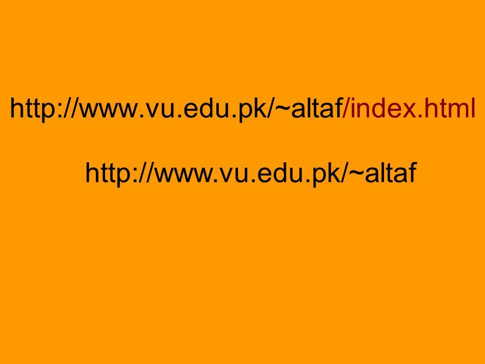 http://www.vu.edu.pk/~altaf/index.html http://www.vu.edu.pk/~altaf