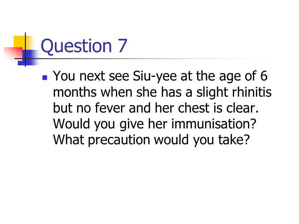 Case 1- answer 6 .