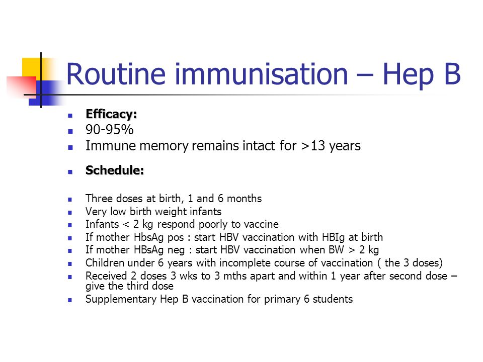 Routine immunisation - MMR Contraindication: Anaphylactic reaction to a vaccine or its components ( eg gelatin, neomycin) Immunodeficiency due to caus