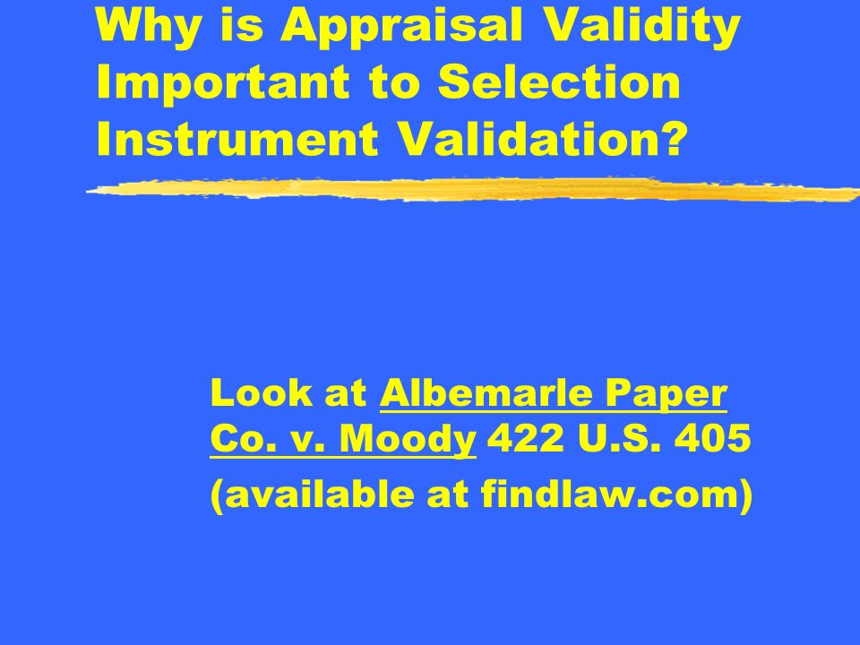 What Guidelines Can be Used to Help Insure Legal Compliance for Appraisal Systems
