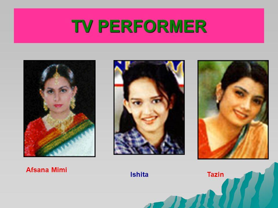 Mou Tarin TV PERFORMER