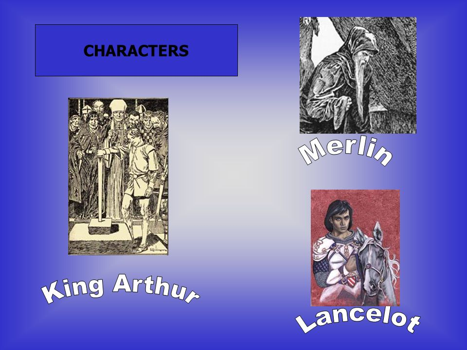Merlin is a master manipulator, who masters Arthur s conception and who, unseen, directs much of the action.