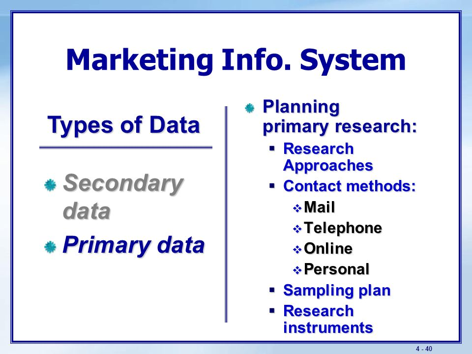 4 - 39 Marketing Info.