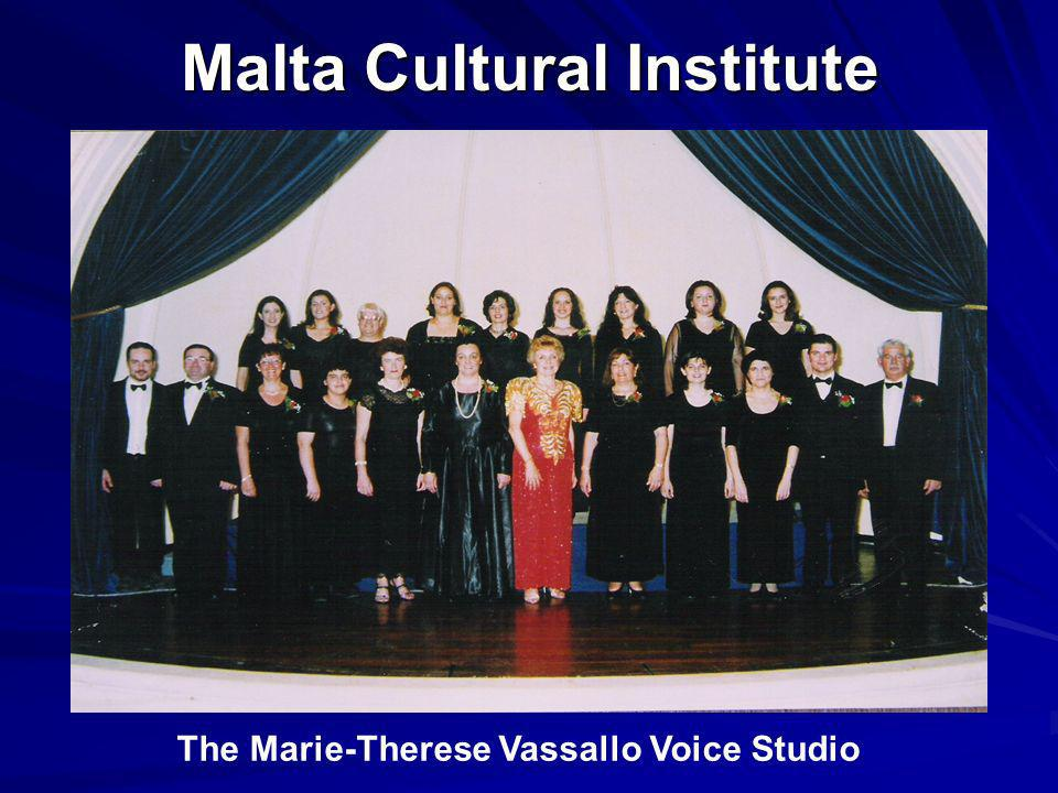 Malta Cultural Institute The Marie-Therese Vassallo Voice Studio