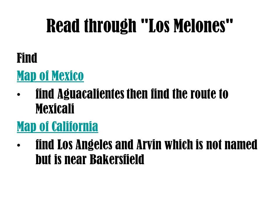 Read through