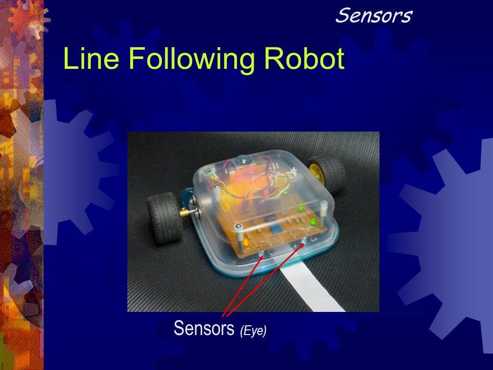 Line Following Robot Sensors (Eye) Sensors