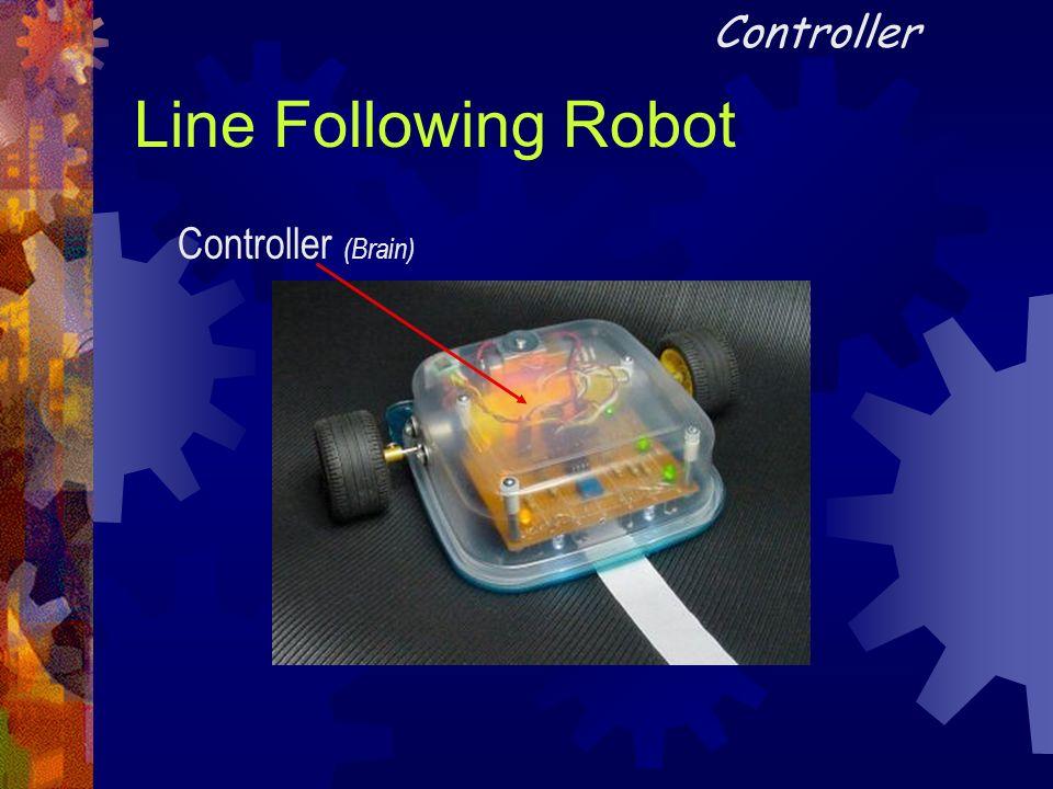 Line Following Robot Controller (Brain) Controller